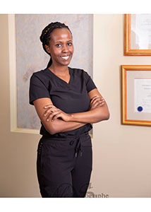 Dr. Olive Nishimwe, Podiatrist